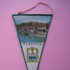 Bandierine di collezione: BANDERIN ANTIGUO - GUIPUZCOA - ONDARROA. Lote 58226841