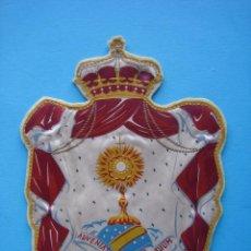 Banderines de colección: BANDERIN ANTIGUO DE TELA - SANTISIMO. Lote 58227694
