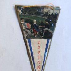 Banderines de colección: BANDERIN / CESTONA - GUIPUZCOA / REVERSO MAPA DE LA COSTA VASCA. Lote 58529291