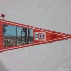 Banderines de colección: ANTIGUO BANDERÍN PLASTIFICADO DE PLENCIA - VIZCAYA . Lote 58554380