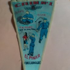 Banderines de colección: BANDERIN EJERCITO 1969. Lote 58641399