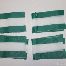 Banderines de colección: LOTE 20 BANDERINES ANTIGUOS PARA BICICLETA, ANDALUCIA, AÑOS 70. Lote 246821585