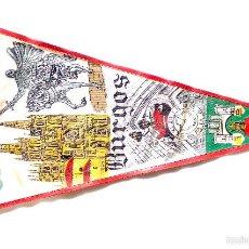 Banderines de colección: BANDERÍN - BURGOS. Lote 59984547