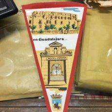 Banderines de colección: BANDERIN AÑOS 60/70 - MEDIDA 30 CM - PUBLICIDAD HOTEL ESPAÑA EN GUADALAJARA. Lote 60932371
