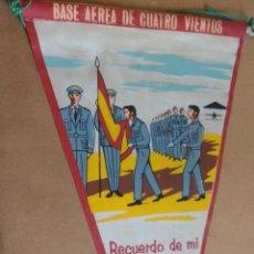 Banderines de colección: VINTAGE,ANTIGUO BANDERIN AÑO 1966, RECUERDO DE MI JURA DE BANDERA. BASE AEREA CUATRO VIENTOS MADRID.. Lote 63910587