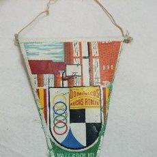 Banderines de colección: BANDERÍN ARCAS REALES,DOMINICOS, VALLADOLID. Lote 65969318