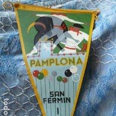 Banderines de colección: SAN FERMIN 1959 BANDERIN. Lote 90701742