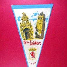 Banderines de colección: BANDERÍN TURISMO - SAN ISIDORO , LEON. Lote 69806665