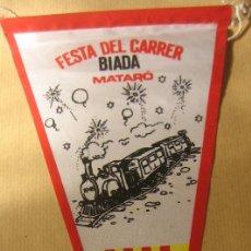 Banderines de colección: BANDERÍN DE MATARÓ 1979. Lote 71612755