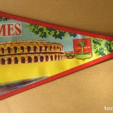Banderines de colección: BANDERÍN DE NIMES (FRANCIA). Lote 71615779