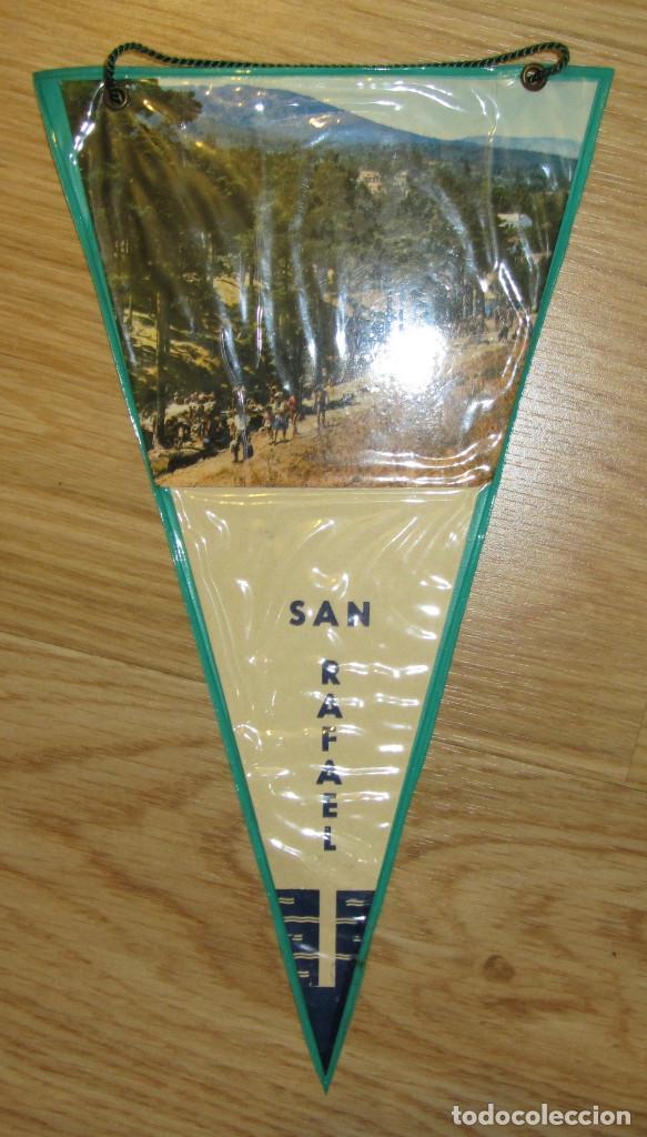 BANDERIN ANTIGUO SAN RAFAEL PLASTIFICADO (Coleccionismo - Banderines)