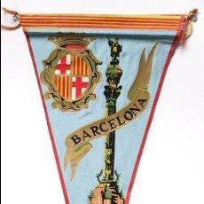 Banderines de colección: BANDERÍN BARCELONA , COLON. Lote 74852115