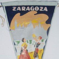 Banderines de colección: BANDERIN ZARAGOZA. Lote 77112809