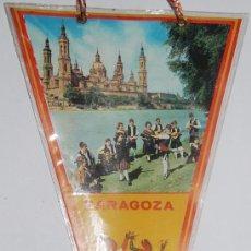 Banderines de colección: BANDERIN ZARAGOZA. Lote 77112941