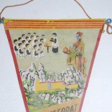 Banderines de colección: BANDERIN MONTSERRAT BARCELONA. Lote 77113137