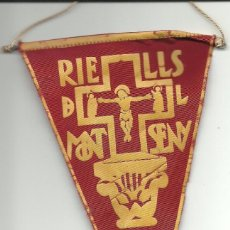 Banderines de colección: ANTIGUO BANDERIN DEL 1957. Lote 77437437