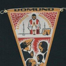 Banderines de colección: AG 50 - BANDERIN DOMUND LITURGIA EN LAS MISIONES AÑOS 60. Lote 77498165