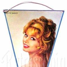 Banderines de colección: BANDERIN DE BRIGITTE BARDOT (BB) AÑOS 60 OSCAR. Lote 78604417