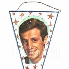 Banderines de colección: BANDERIN DE JEAN PAUL BELMONDO AÑOS 60 OSCAR. Lote 126910236