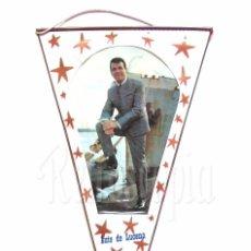 Banderines de colección: BANDERIN DE LUIS DE LUCENA AÑOS 60 OSCAR. Lote 78606585