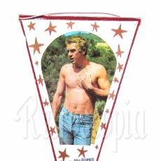 Banderines de colección: BANDERIN DE STEVE MCQUEEN. OSCAR AÑOS 60. Lote 78607617