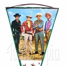 Banderines de colección: BANDERIN DE LA SERIE DE TELEVISION BONANZA AÑOS 60 OSCAR. Lote 78609737