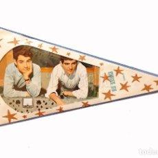Banderines de colección: BANDERIN DE EL DUO DINAMICO AÑOS 60 OSCAR. Lote 78617541