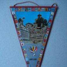Banderines de colección: BANDERIN DE ANDUJAR (JAÉN)- PLASTIFICADO - AÑOS 60 A 70..... R- 4147. Lote 79855861