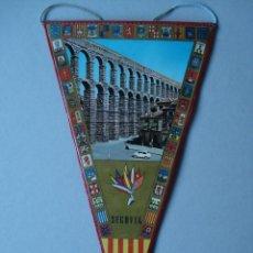 Banderines de colección: BANDERIN DE SEGOVIA - PLASTIFICADO - AÑOS 60 A 70..... R- 4151. Lote 79858037
