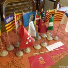 Banderines de colección: BANDERAS COMUNIDADES AUTÓNOMAS. Lote 79887826