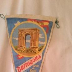 Banderines de colección: BANDERIN DE TARRAGONA ARCO DE BARA. Lote 80448569
