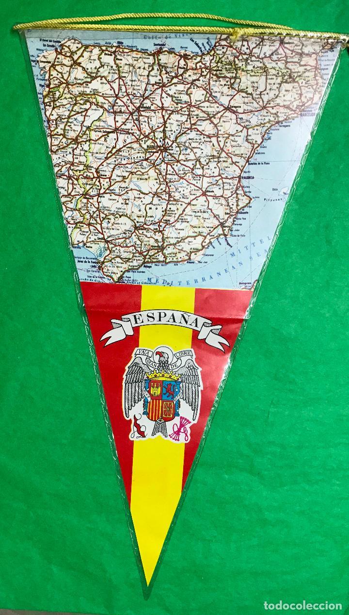 bandern de huelva  aos 60  mapa de espaa  Comprar Banderines