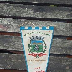 Banderines de colección: BANDERÍN PARANAGUA 1968. Lote 87453827