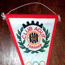 Banderines de colección: CLUB AGUT SECCION DEPORTIVA DE LA ANTIGUA EMPRESA AGUT, S.A. . Lote 89285168