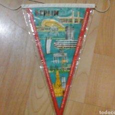 Banderines de colección: BANDERÍN BERLÍN VINTAGE. Lote 90167334