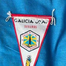 Banderines de colección: BANDERIN GALICIA SEGUROS SA . AÑOS 60. Lote 90653730