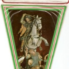 Banderines de colección: SANTIAGO APOSTOL PATRON DE ESPAÑA, ORIGINAL ANTIGUO EN BUEN ESTADO, MUY BONITO. Lote 91717730