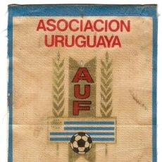 Banderines de colección: ASOCIACION URUGUAYA DE FUTBOL, AUF, ORIGINAL ANTIGUO EN BUEN ESTADO,LEER DECRIP.Y ENVIO. Lote 91720305