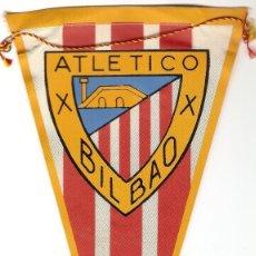 Banderines de colección: ATLETICO DE BILBAO, OBSEQUIO DE CARAMELOS KIKI, ORIGINAL ANTIGUO EN BUEN ESTADO, IMPORTANTE LEER. Lote 91721845