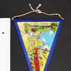 Banderines de colección: RARO BANDERIN DE TELA DE BESANCON BESANZON FRANCHE-CONTE (FRANCIA). Lote 92112680