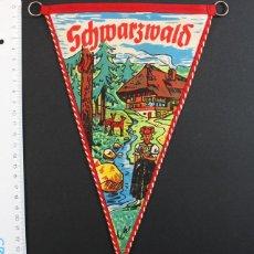Banderines de colección: RARO BANDERIN DE TFREUDENSTAD SCHWARZIVALD (ALEMANIA). Lote 92112860