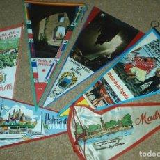 Banderines de colección: BANDERINES ANTIGUOS,LOTE DE 6 EN BUEN ESTADO, VER DETALLES. Lote 92298530