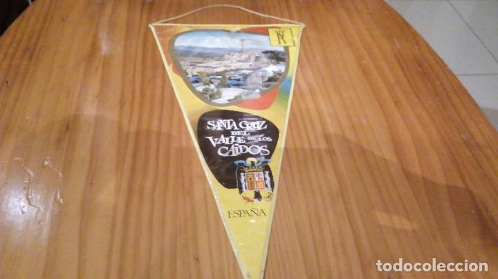 BANDERIN SANTA CRUZ DEL VALLE DE LOS CAIDOS (Coleccionismo - Banderines)