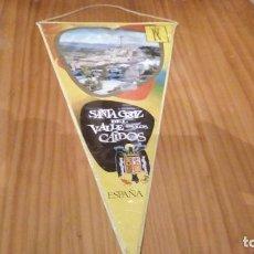 Banderines de colección: BANDERIN SANTA CRUZ DEL VALLE DE LOS CAIDOS. Lote 93116420