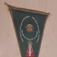 Banderines de colección: BANDERÍN DE LA ASOCIACIÓN DE TXISTULARIS DEL PAÍS VASCO (ARRATE 24/7/1960).. Lote 93765340