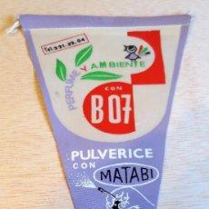 Banderines de colección: BANDERIN PUBLICITARIO MATABI. AÑOS 60.. Lote 93861835