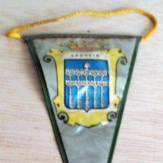 Banderines de colección: MINI BANDERIN TURISTICO SEGOVIA. AÑOS 60. .. Lote 93864915
