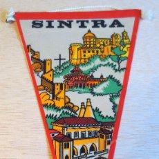 Banderines de colección: BANDERIN TURISTICO SINTRA (PORTUGAL). AÑOS 60. .. Lote 93865115