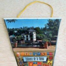 Banderines de colección: BANDERIN TURISTICO TALAVERA DE LA REINA. AÑOS 60.. Lote 93865390