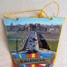 Banderines de colección: BANDERIN TURISTICO VALENCIA. AÑOS 60.. Lote 93866560